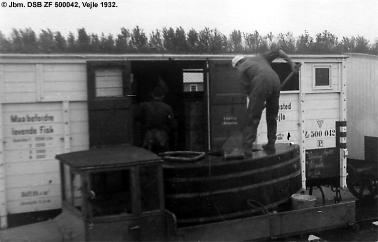 P. Holm Nyland - DSB ZF 500042
