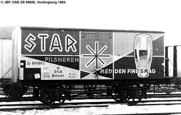 Bryggeriet Stjernen A/S - DSB ZB 99680