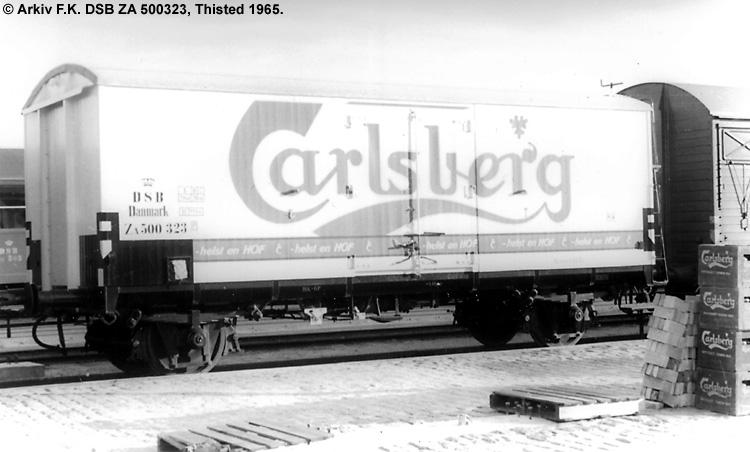 Carlsberg Bryggerierne - DSB ZA 500323