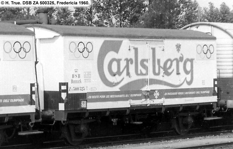 Carlsberg Bryggerierne - DSB ZA 500325