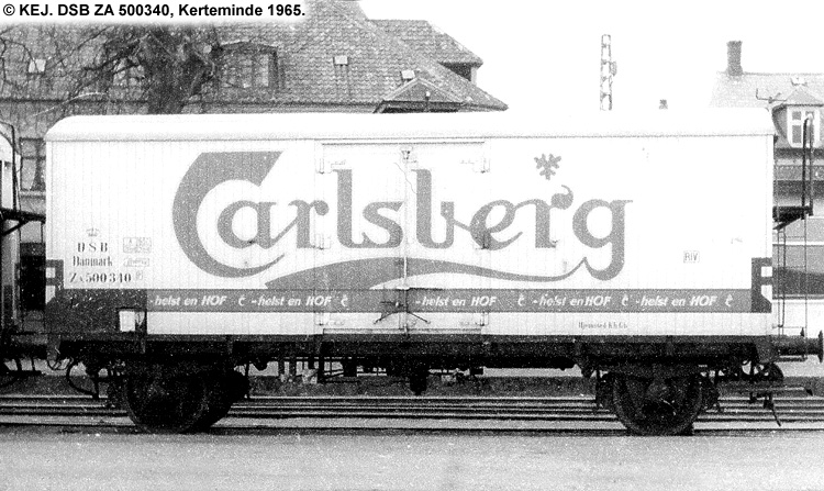 Carlsberg Bryggerierne - DSB ZA 500340