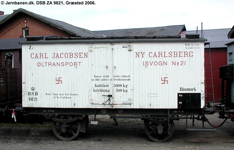 Carlsberg Bryggerierne - DSB ZA 9821