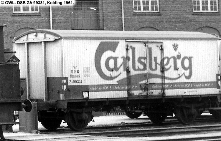 Carlsberg Bryggerierne - DSB ZA 99331