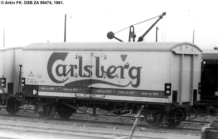 Carlsberg Bryggerierne - DSB ZA 99474