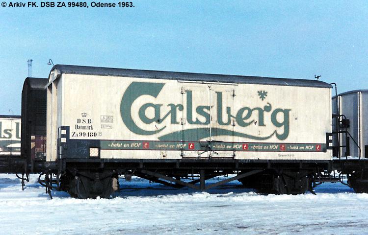 Carlsberg Bryggerierne - DSB ZA 99480