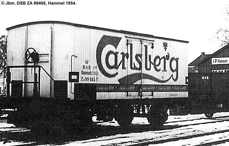 Carlsberg Bryggerierne - DSB ZA 99495