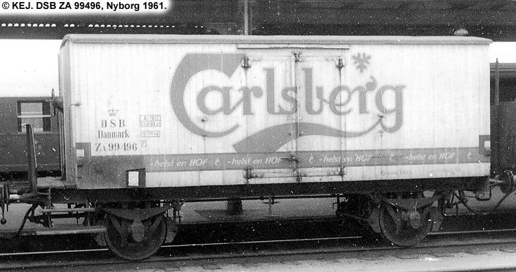 Carlsberg Bryggerierne - DSB ZA 99496