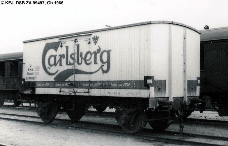 Carlsberg Bryggerierne - DSB ZA 99497
