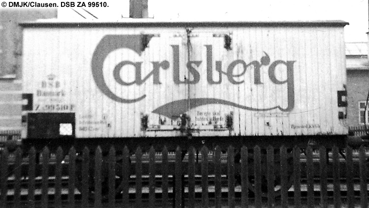 Carlsberg Bryggerierne - DSB ZA 99510