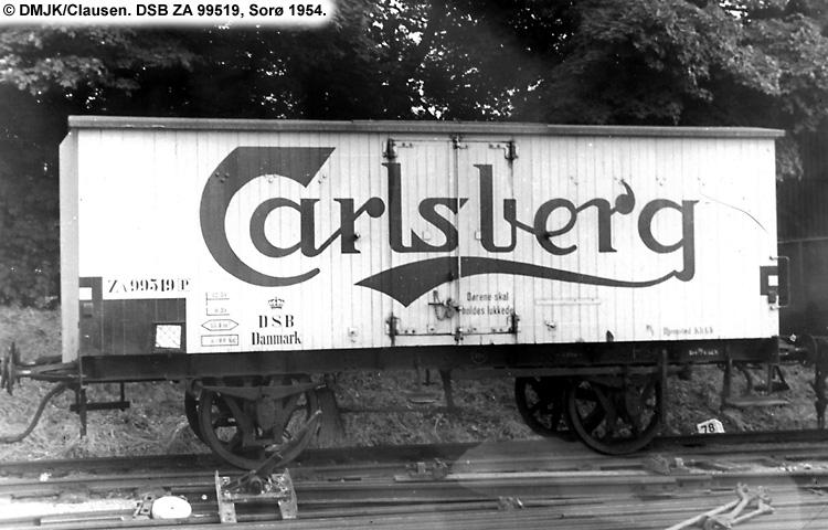 Carlsberg Bryggerierne - DSB ZA 99519