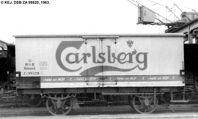 Carlsberg Bryggerierne - DSB ZA 99520