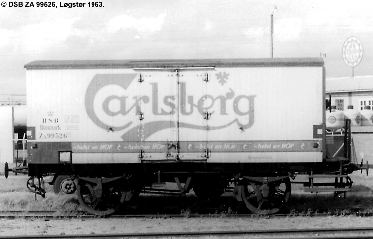 Carlsberg Bryggerierne - DSB ZA 99526