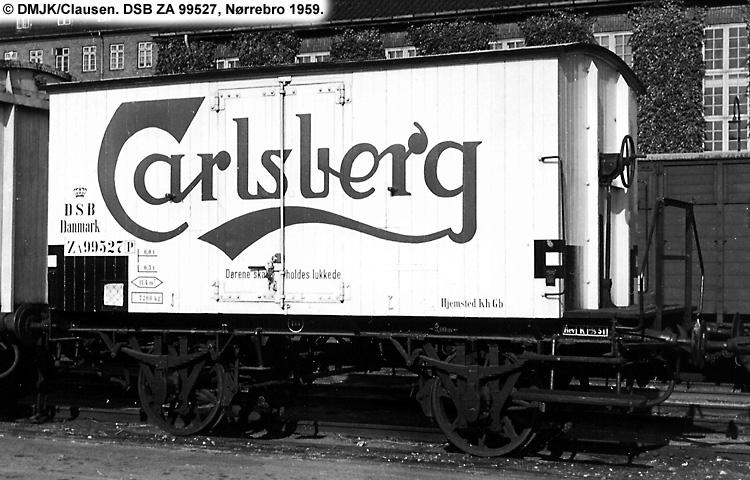 Carlsberg Bryggerierne - DSB ZA 99527