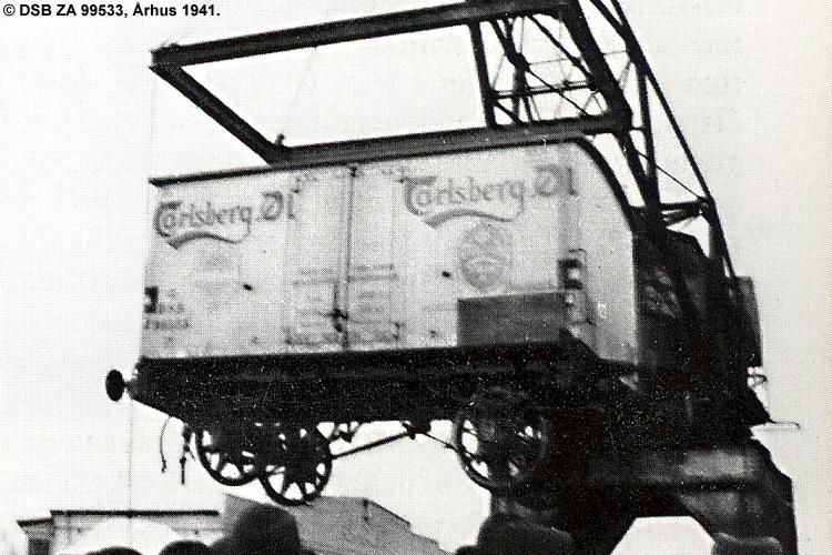Carlsberg Bryggerierne - DSB ZA 99533