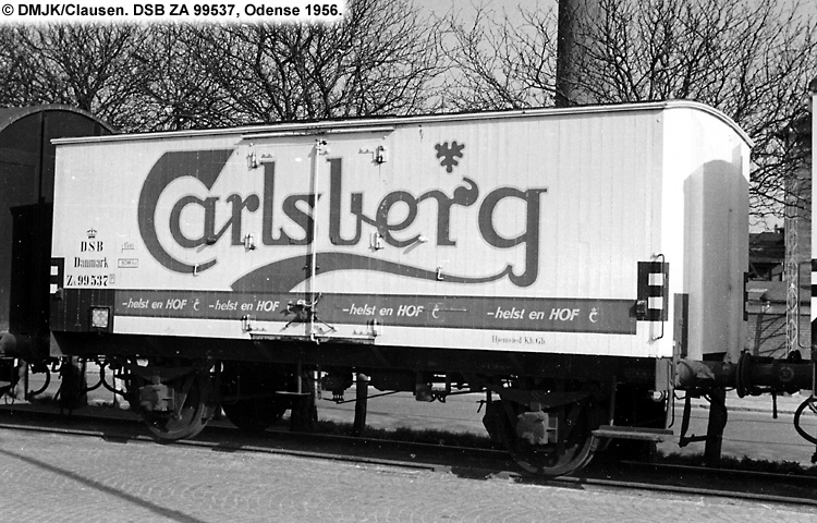 Carlsberg Bryggerierne - DSB ZA 99537