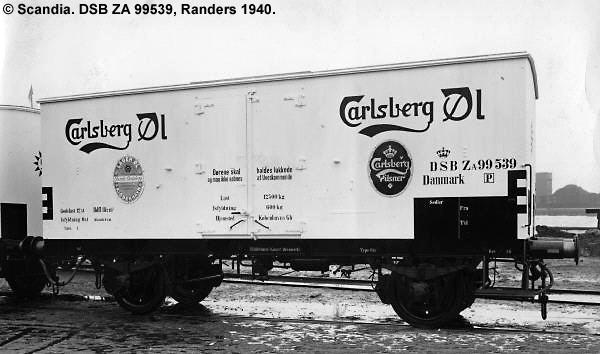 Carlsberg Bryggerierne - DSB ZA 99539