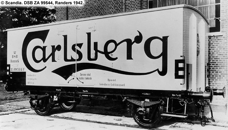 Carlsberg Bryggerierne - DSB ZA 99544