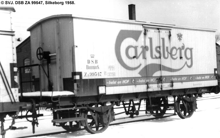 Carlsberg Bryggerierne - DSB ZA 99547