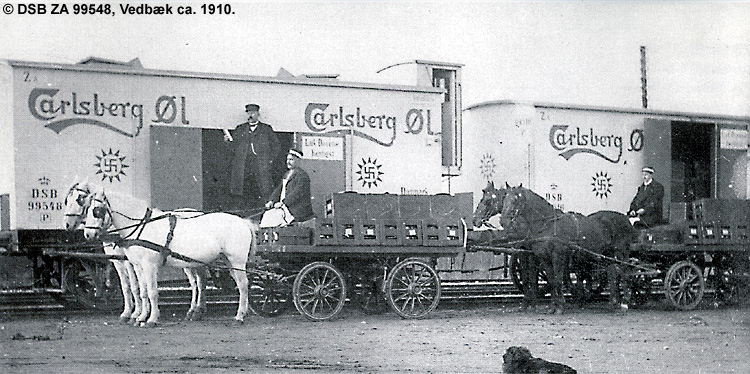 Carlsberg Bryggerierne - DSB ZA 99548
