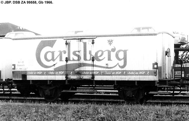 Carlsberg Bryggerierne - DSB ZA 99558