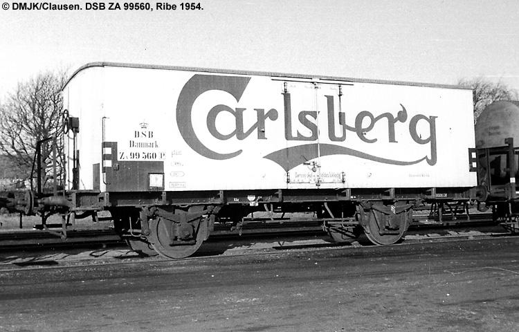 Carlsberg Bryggerierne - DSB ZA 99560