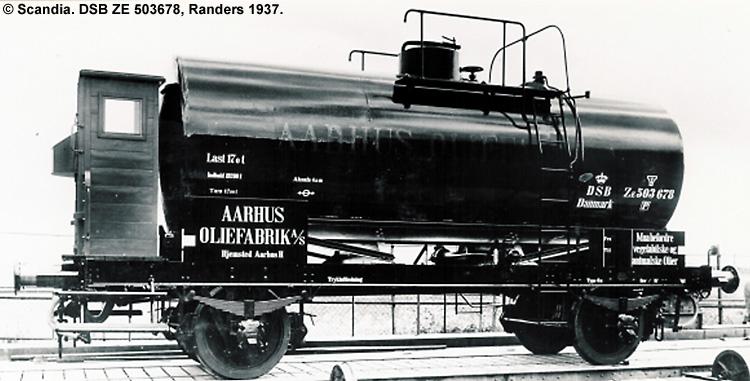Århus Oliefabrik A/S - DSB ZE 503678