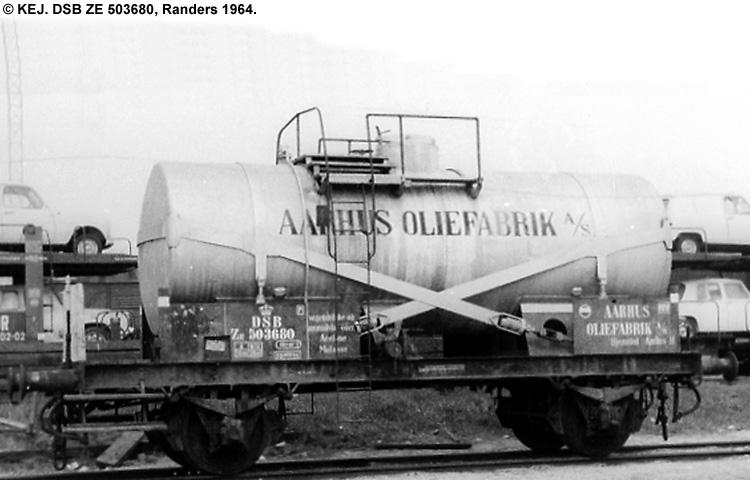Århus Oliefabrik A/S - DSB ZE 503680