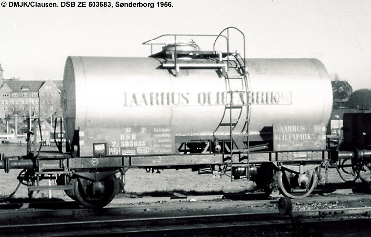 Århus Oliefabrik A/S - DSB ZE 503683