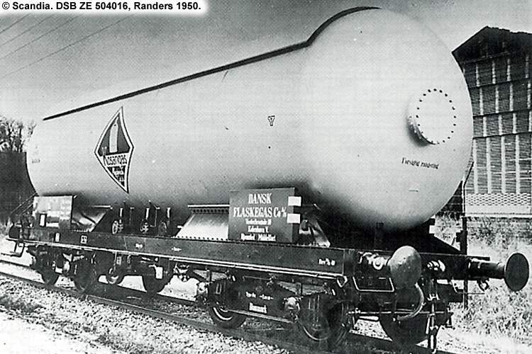 Kosangas - DSB ZE 504016