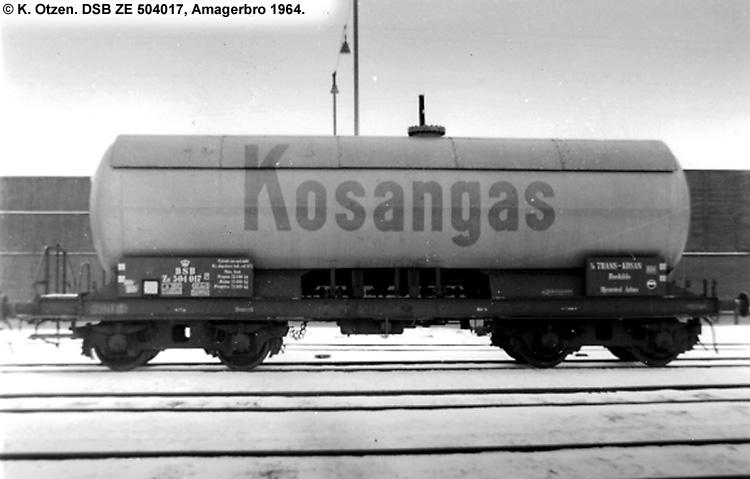 Kosangas - DSB ZE 504017