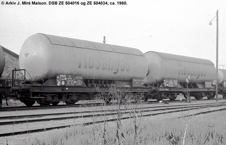 Kosangas - DSB ZE 504034
