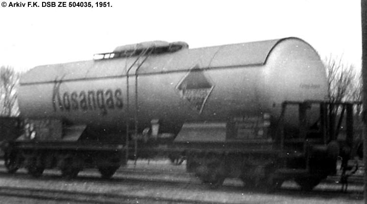 Kosangas - DSB ZE 504035