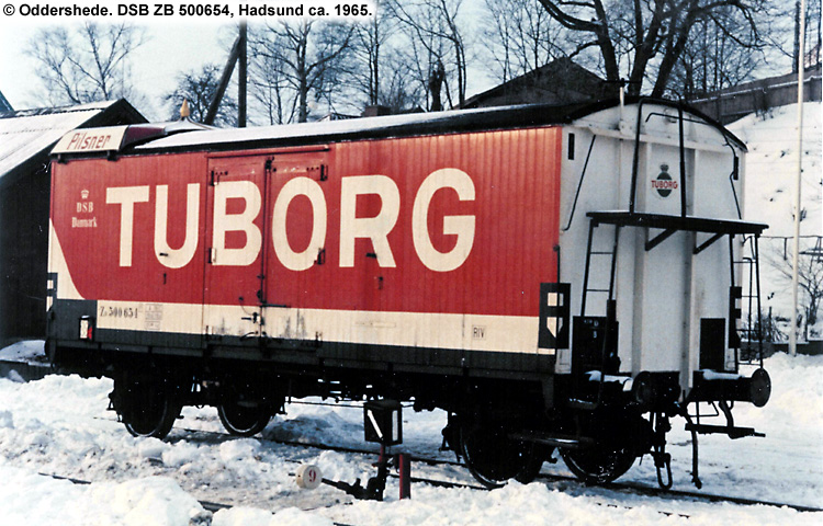 Tuborg - DSB ZB 500654