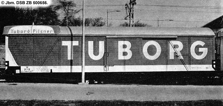 Tuborg - DSB ZB 500656