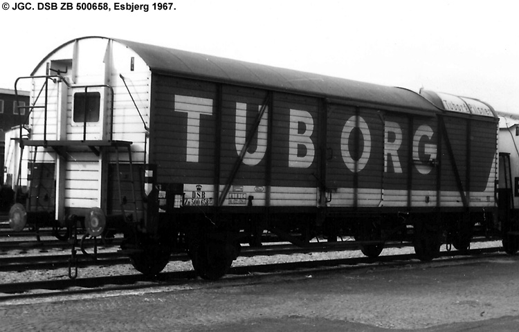 Tuborg - DSB ZB 500658