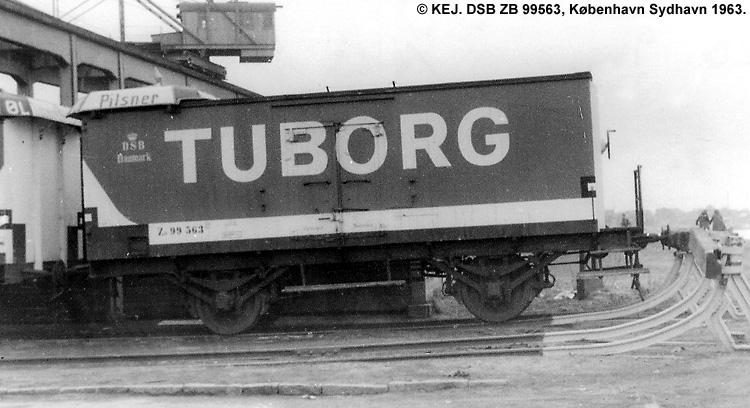 Tuborg - DSB ZB 99563