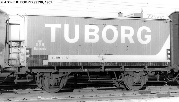 Tuborg - DSB ZB 99598
