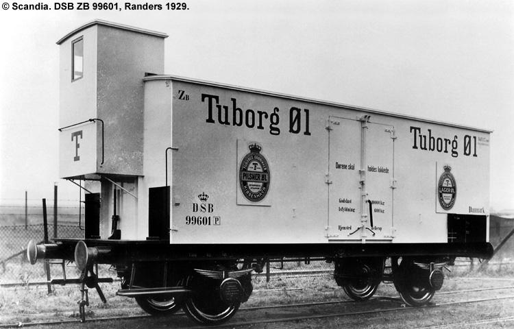 Tuborg - DSB ZB 99601