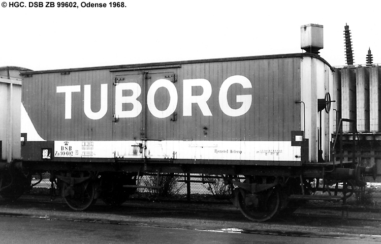 Tuborg - DSB ZB 99602