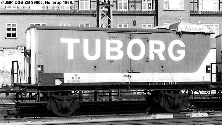 Tuborg - DSB ZB 99603