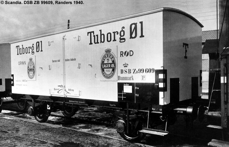 Tuborg - DSB ZB 99609