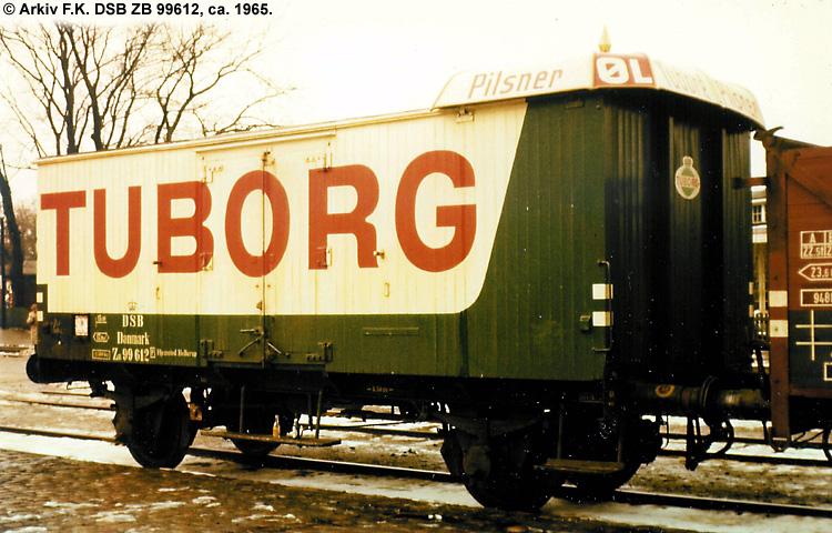 Tuborg - DSB ZB 99612