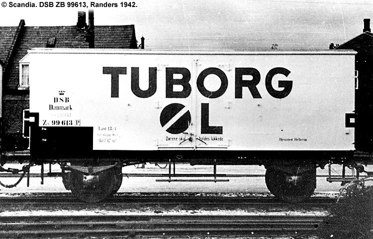 Tuborg - DSB ZB 99613