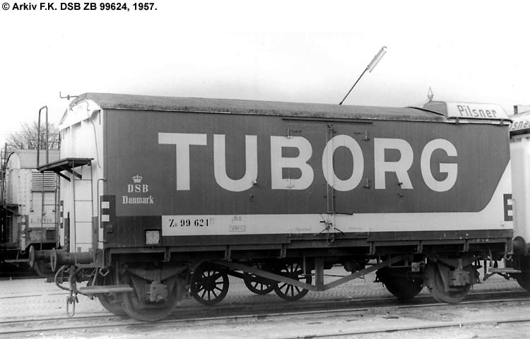 Tuborg - DSB ZB 99624