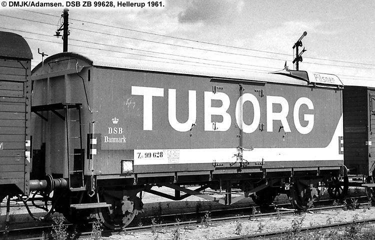 Tuborg - DSB ZB 99628