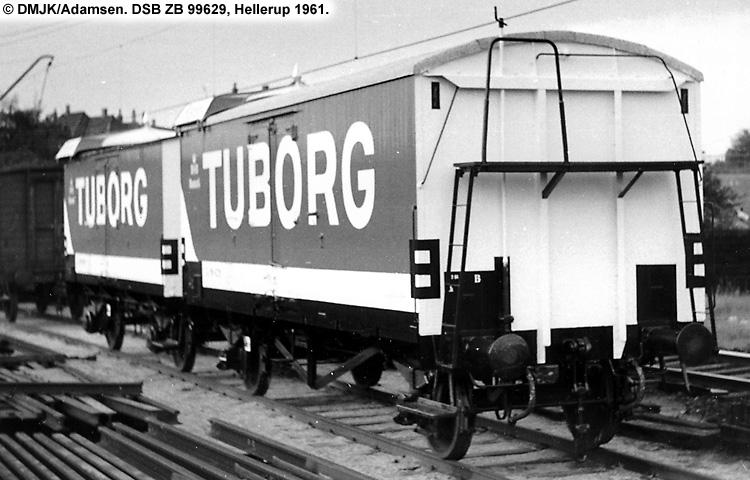 Tuborg - DSB ZB 99629