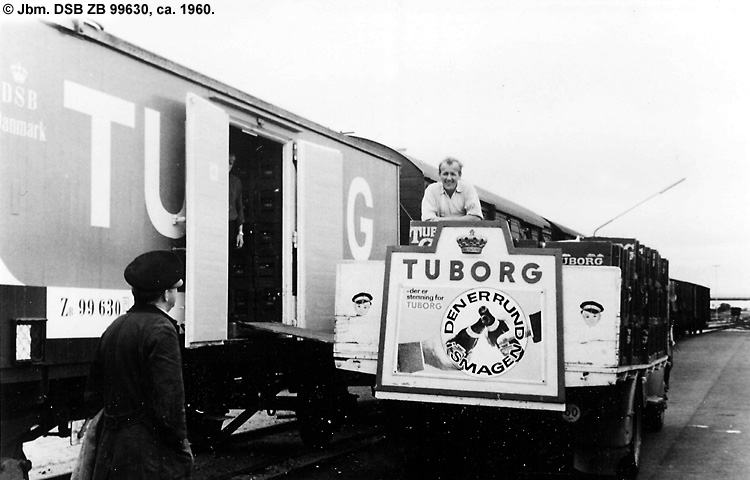 Tuborg - DSB ZB 99630