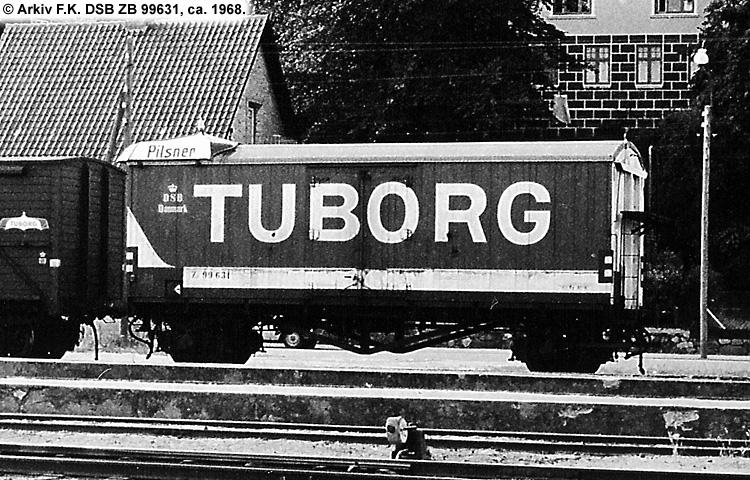 Tuborg - DSB ZB 99631