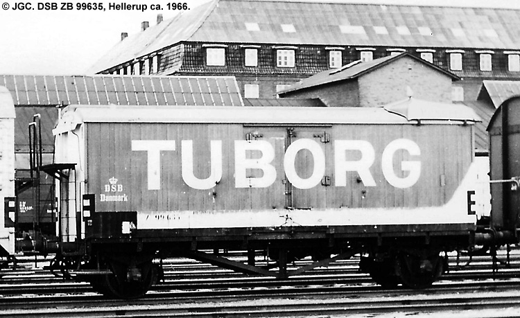 Tuborg - DSB ZB 99635