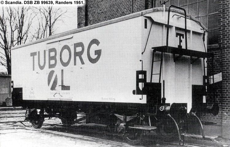 Tuborg - DSB ZB 99639